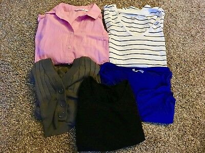 Lot of 5 Women's Shirts - Size Small
