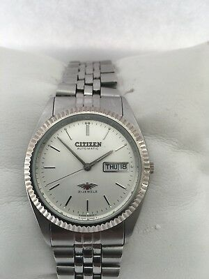 Citizen Men's Analogue Automatic 21 Jewels Day/ Date watch