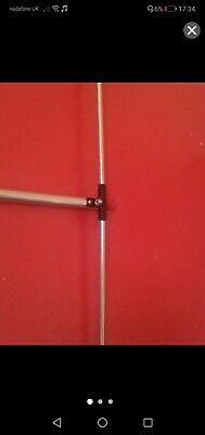 FM BROADCAST DIPOLE ANTENNA  AERIAL & FIXINGS  88-108 MHz 500 watt plus cable