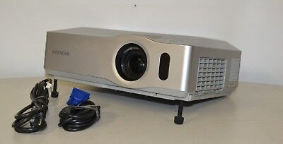 Hitachi CP-X206 LCD Multimedia Portable Projector With 983 Used Lamp Hours