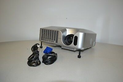 Hitachi CP-X265 LCD Multimedia Portable Projector With 3 Used Lamp Hours