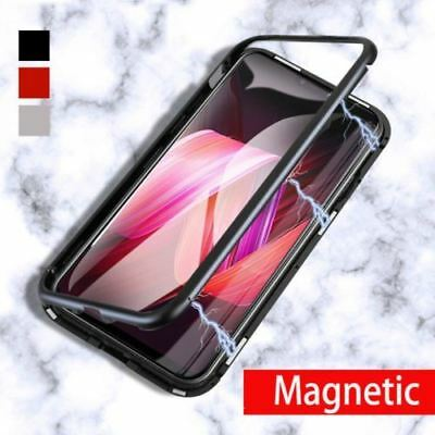 Magnetische Adsorption Schutzhülle Full Phone Case Für HUAWEI P20 iphone X Cover