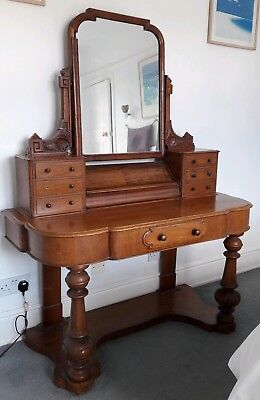 Antique Vintage Victorian Mahogany Duchess Dressing Table