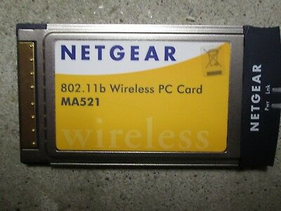 Netgear MA 521 Netzkarte 802.11b Wireless PC Card