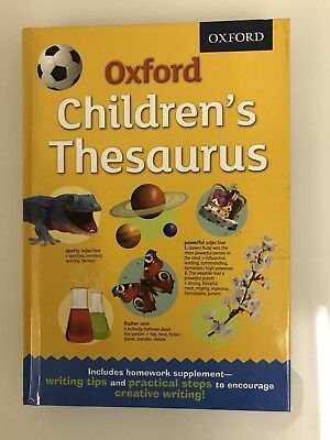 Oxford Children's Thesaurus • Age: 8 Years+