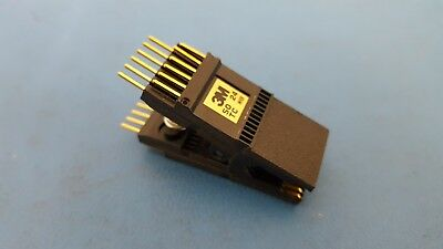 IC TEST CLIP, 24 PIN, SOIC, 2 X 14 DIP, Prototype, 3M, 923665-24, SOTC-14, Gold