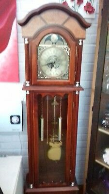 Grandfather Clock Long-case Contemporary BENTIMA 43076 Walnut Veneer 180cm