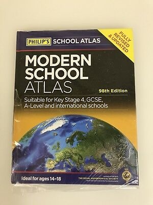 Philip's Modern School Atlas: 98th Edition by Octopus Publishing Group...