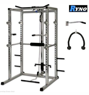 Ryno Power Rack Squat Rack Weight Rack Squat Cage - New Condition