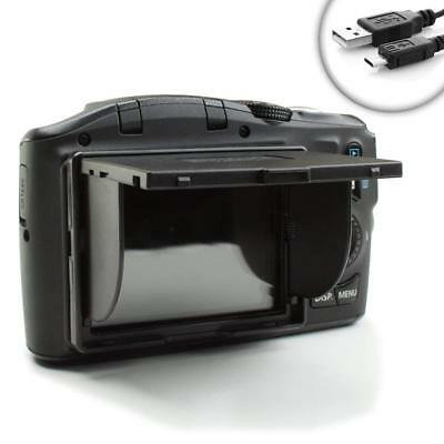 "DSLR Ultra-Slim Pop-Up 3"" Sun Shade & Screen Protector- Fits 4:3 ration screens"