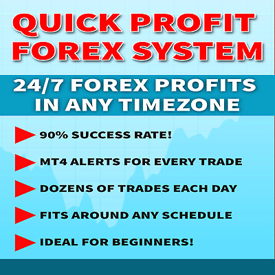 FOREX: Quick Profit Forex MT4 Trading System. 24/7 Profits. + FREE GIFT!