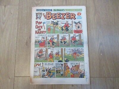 THE BEEZER COMIC, No 63 - MARCH 30TH 1957  Good Condition
