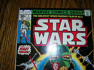 Star Wars # 1 Comic Marvel { July 1977 Marvel}  Super First Issue George Lucas