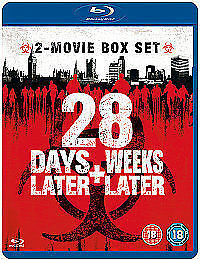 28 Days Later/28 Weeks Later (Blu-ray, 2008, 2-Disc Set, Box Set),NEW & SEALED