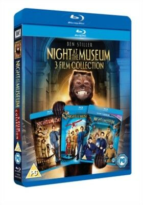 Night At The Museum 1-3 BLU-RAY NEW & SEALED, FAST UK DISPATCH !
