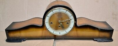Vintage KOCH Art Deco Westminster Chime Clock Clock by  Erhard Jauch for Repair