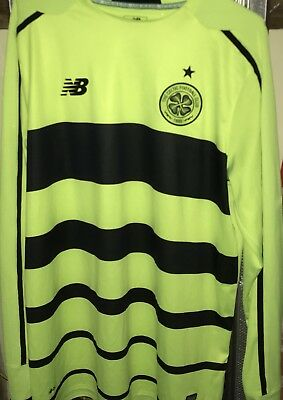 Celtic FC-New Balance Long Sleeved-No Sponsor-Season 2015/16 (away shirt) Large
