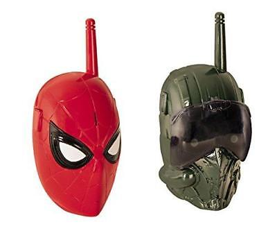 Nuovo Spiderman Homecoming Film Walkie Talkie - Range 100m+
