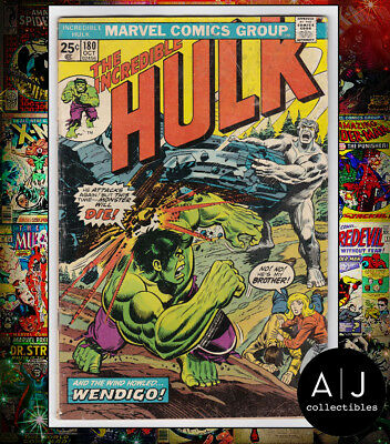 The Incredible Hulk #180 MVS INTACT (X Marvel N) VG-! HIGH RES SCANS!