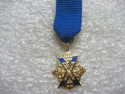 Russia Medal Mini St.Andrews Cross
