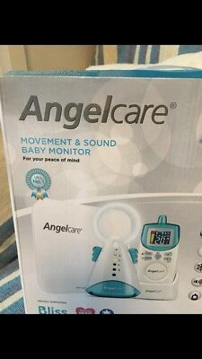 Angelcare Movement And Sound Baby Monitor- Brand New And Never Used!