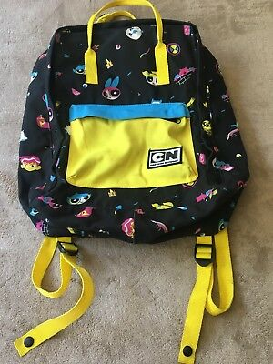 Cartoon Network POWERPUFF GIRLS Large Book Bag Backpack