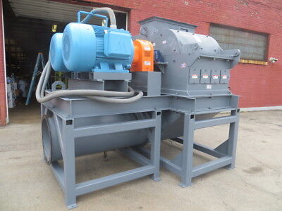 Schutte Duel 125 HP Collision Style Dual Rotor Swing Hammer Style Hammer Mill US