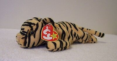 "Ty Beanie Babies  Collection   ""stripes""   Tiger"