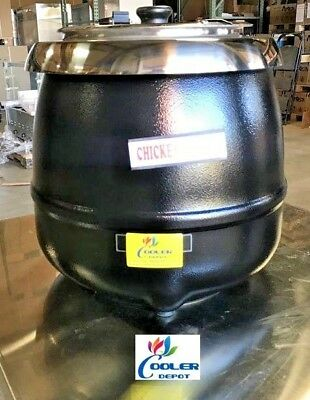 NEW Commercial Electric Soup Stew Pot Warmer Restaurant Buffet Deli Catering NSF