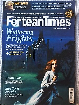 Fortean Times February 2016 FT337 FREE P&P