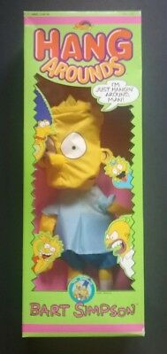 THE SIMPSONS HANG AROUNDS - Bart Simpson 1990 release - in collectors condition