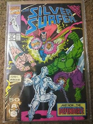 Marvel Comics - Comic Book - Silver Surfer #58 Infinity Gauntlet Crossover