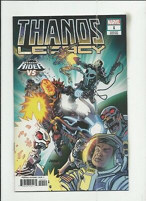 Thanos Legacy #1 Dave Johnson Cosmic Ghost Rider Variant Cover (VF/NM) condition