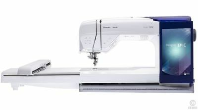 Husqvarna Viking Designer Epic Sewing Machine Serviced Embroidery