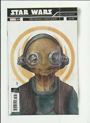 Star Wars #53 (2018) Rod Reis Galactic Icon Variant Cover (VF/NM) condition