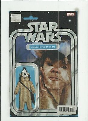 Star Wars #53 (2018) Action Figure Variant Cover near mint- (NM-) condition