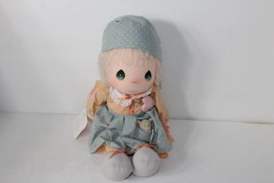 """New NOS Vintage Precious Moments BONNIE Doll by APPLAUSE 1980's 15"""" Mint 2 Tags"""