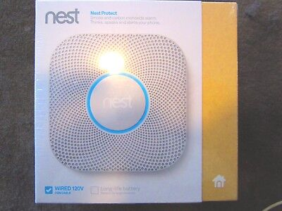 *BRAND NEW* Nest Protect Smoke Plus Carbon Monoxide, (Wired S3003LWES)2nd gen