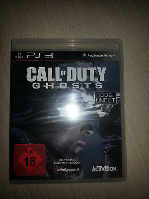 Call of Duty: Ghosts (100% uncut) - PS3 (USK18)