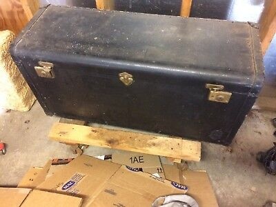 C.A. Taylor Antique Auto Luggage Trunk Possilbe Ford Model A T