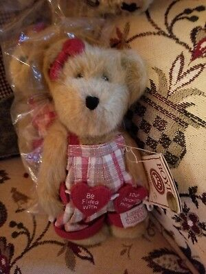 "Vintage Boyd's Teddy Bear for LONGABERGER "" Luvey Heartstrings "" #1-11"