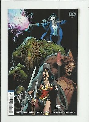 Justice League Dark #1 Greg Capullo Variant Cover very fine+ (VF+) condition