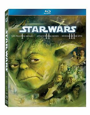 Star Wars: The Prequel Trilogy (Episodes I-III) [1999] (Blu-ray)