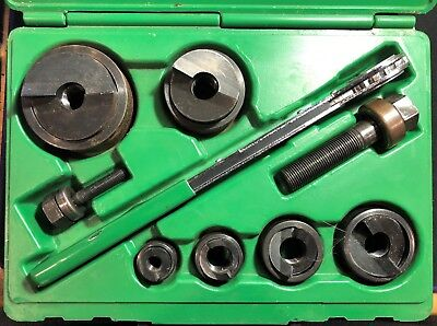 Greenlee 7238SB Slug-Buster Knockout Kit With Ratchet Wrench USA