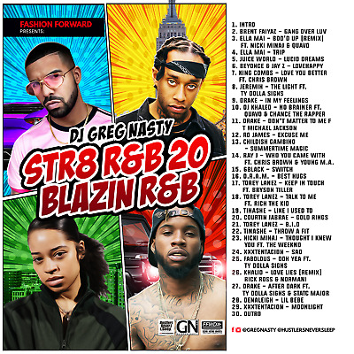 "DJ Greg Nasty - ""STR8 R&B 20"""