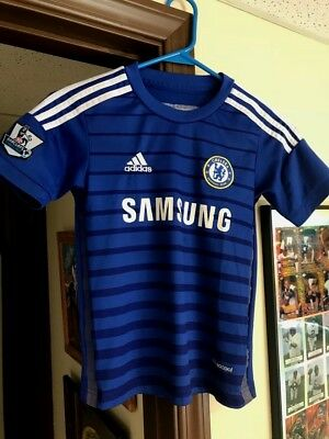 af487f63404 ... new zealand adidas climacool chelsea fc eden hazard 10 youth home jersey  size youth small 0dae5