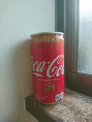 Coca-Cola Coffee Plus - EXTREMELY LIMITED EDITION From Japan - one EMPTY can