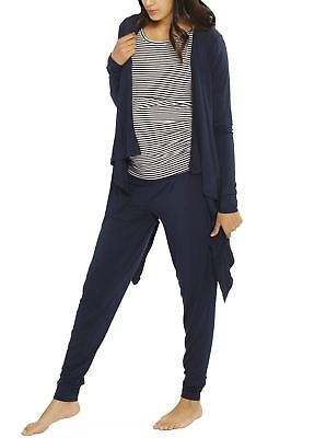 """Street to Home"" Maternity 3 Piece Relax Outfit - Navy"