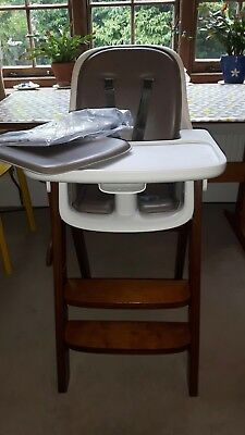 OXO Tot Sprout Highchair Taupe Walnut