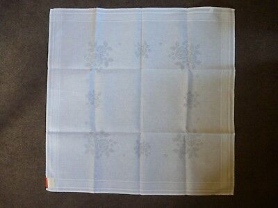 Square Tablecloth - Unworked Cross Stitch Rose Pattern